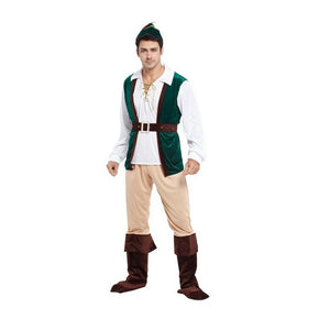 Medieval Archer & Hunter Robin Hood Costume | Halloween Family Costume