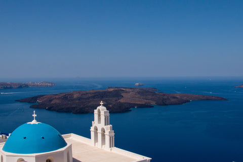 Three Bells of Fira, Santorini