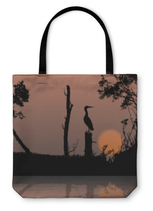 Tote Bag, Bird On A Branch Wildlife