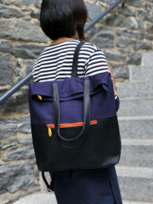 Greenpoint Vegan Convertable Tote / Backpack