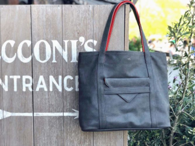Borough Vegan Leather Tote Bag