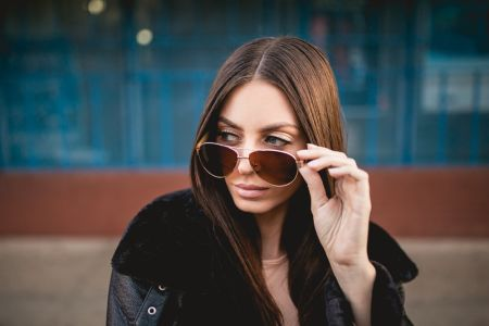 LAKEFRONT | ROSEGOLD | Eco-Friendly, Bamboo Temple, Women's Sunglasses by Root