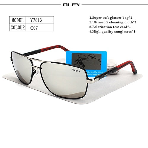 OLEY Men's Driving Glasses (UV)