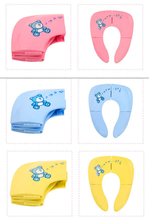 Foldable Portable Potty Seat For Toddlers / Children