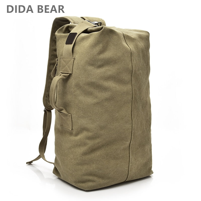 Canvas Backpack Duffel Bag