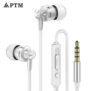 PTM D11 Super Bass Earphone Sport Headphones