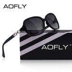AOFLY Women's Polarized Sunglasses, Gradient Shades