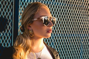 CRESCENT CITY | PEARL TORTOISE | Eco-friendly Women's Sunglasses by ROOT