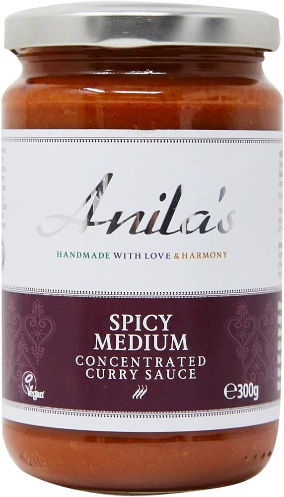 Anila's Spicy Medium Madras Curry Sauce - Fodmap Foods