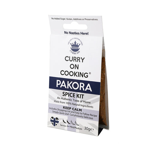 Curry on Cooking Pakora Spice Kit