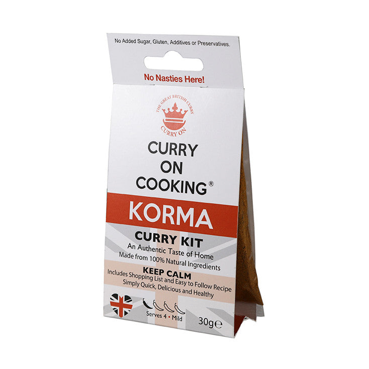 Curry on Cooking Korma Curry Kit - Fodmap Foods