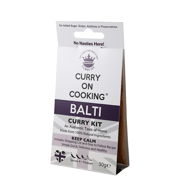 Curry on Cooking Balti Curry Kit - Fodmap Foods
