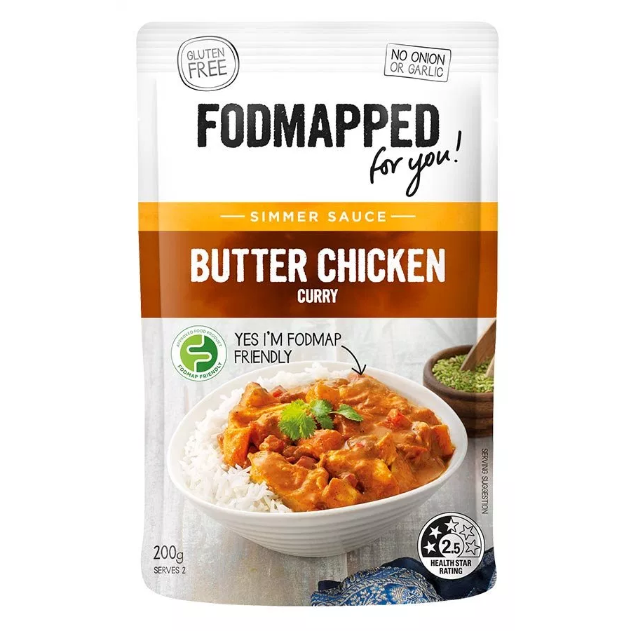 Fodmapped For You Butter Chicken Curry - Fodmap Foods