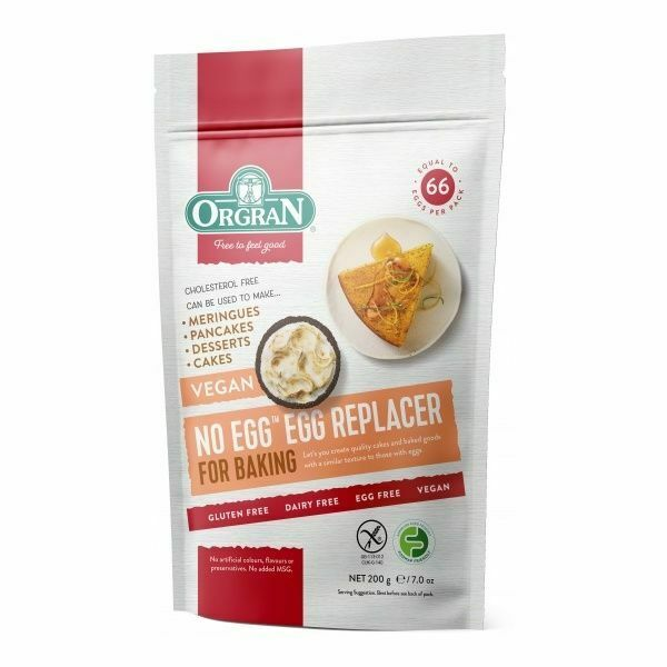 Orgran No Egg - Egg Replacer - Fodmap Foods