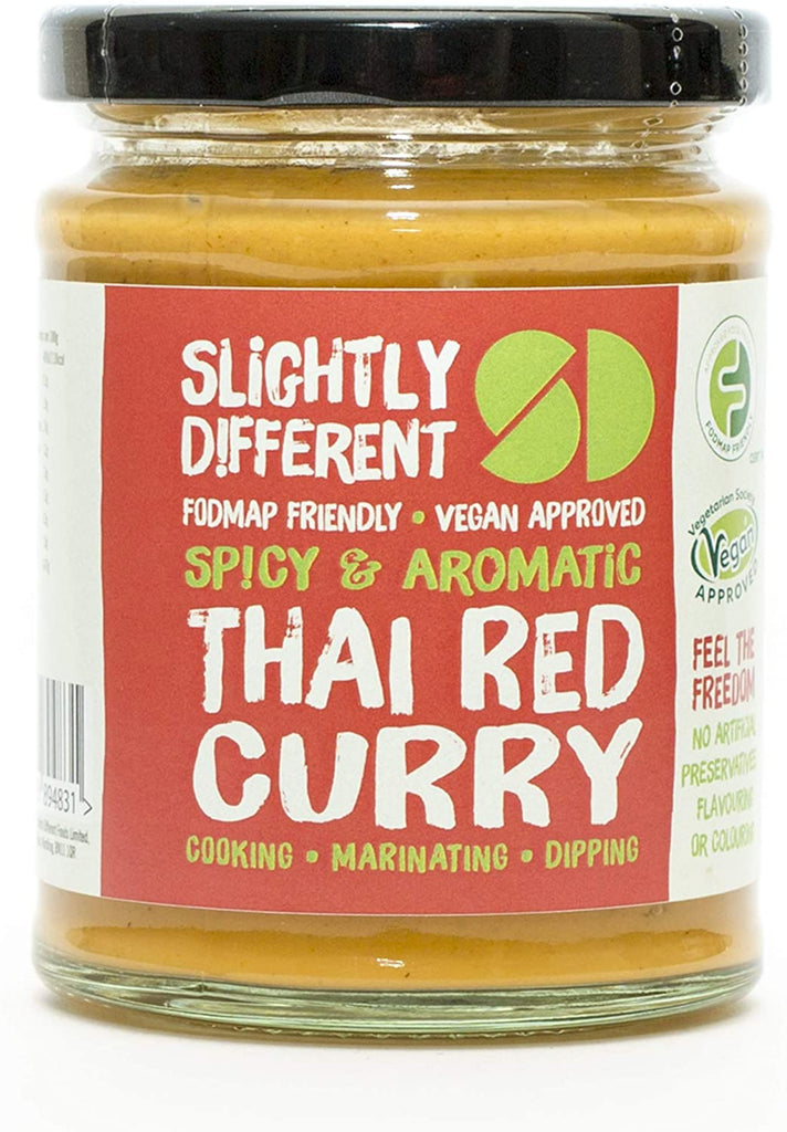 Slightly Different Foods - Thai Red Curry - Fodmap Foods
