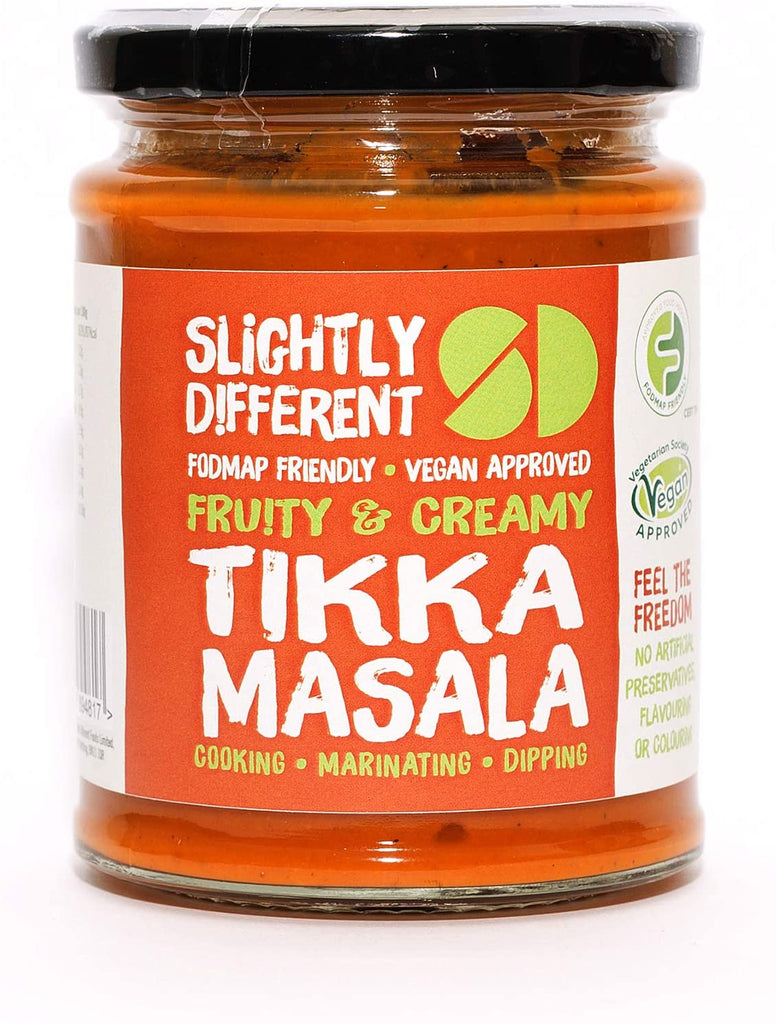 Slightly Different Foods - Tikka Masala Curry Sauce - Fodmap Foods