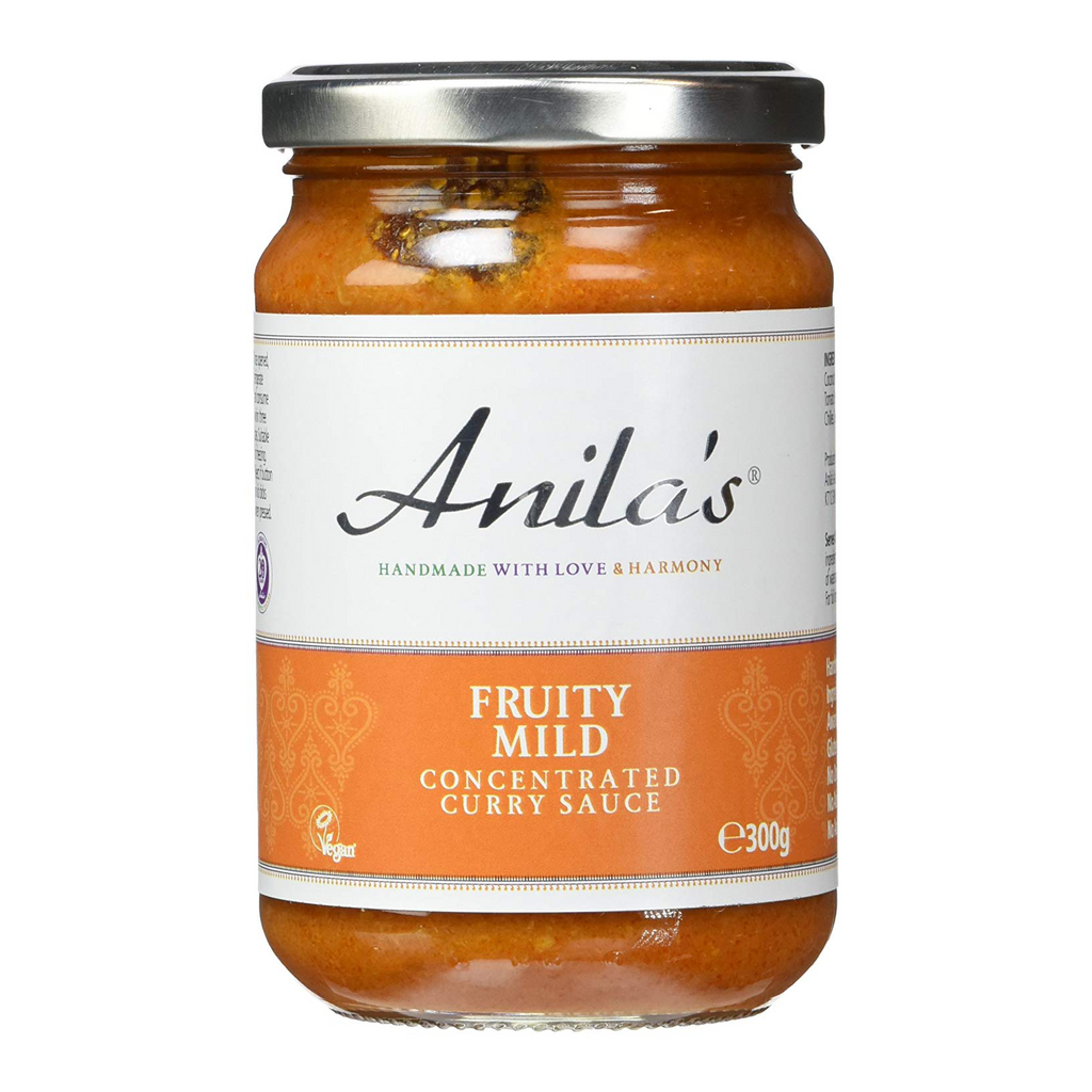 Anila's Fruity Mild Curry Sauce - Fodmap Foods