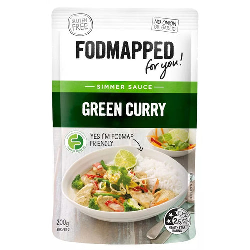Fodmapped For You Green Curry Simmer Sauce