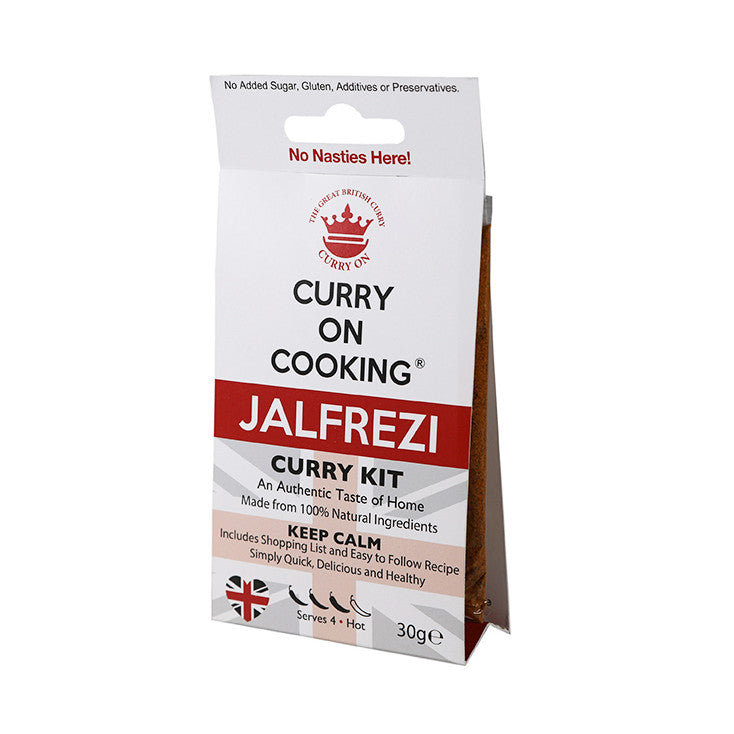 Curry on Cooking Jalfrezi Curry Kit - Fodmap Foods