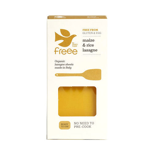 Doves Farm Freee Maize & Rice Lasagne Sheets - Fodmap Foods