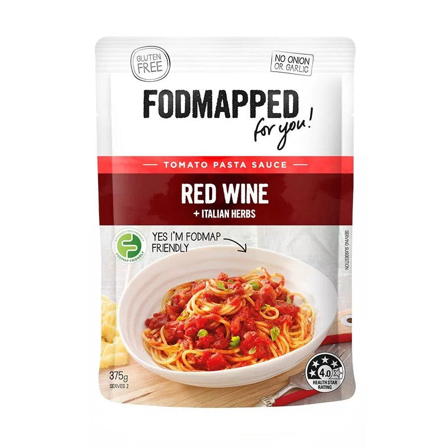 Fodmapped For You Red Wine Simmer Sauce - Fodmap Foods