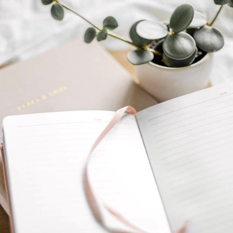 Linen Journal and Diary by Do Good Paper Co.
