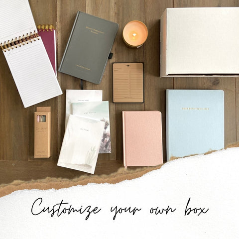 Make your own Do Good Paper Co. subscription box