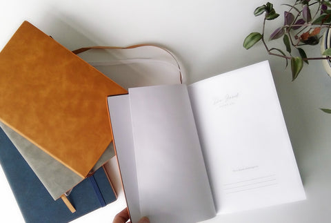 Premium Journal with vegan leather covers