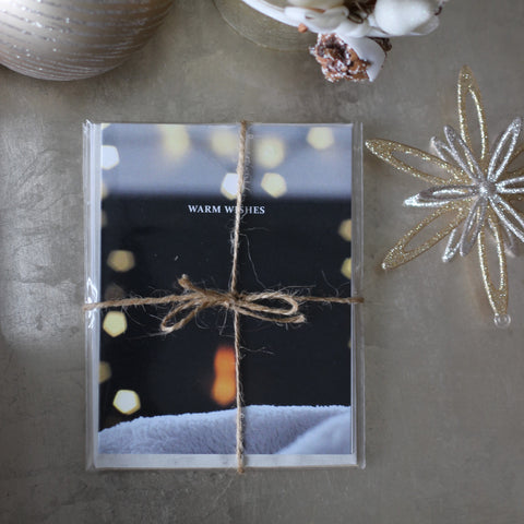 "Do Good Paper Co. greeting cards - ""Warm Wishes"""