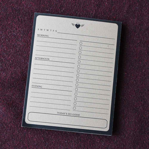 Do Good Daily Notepad