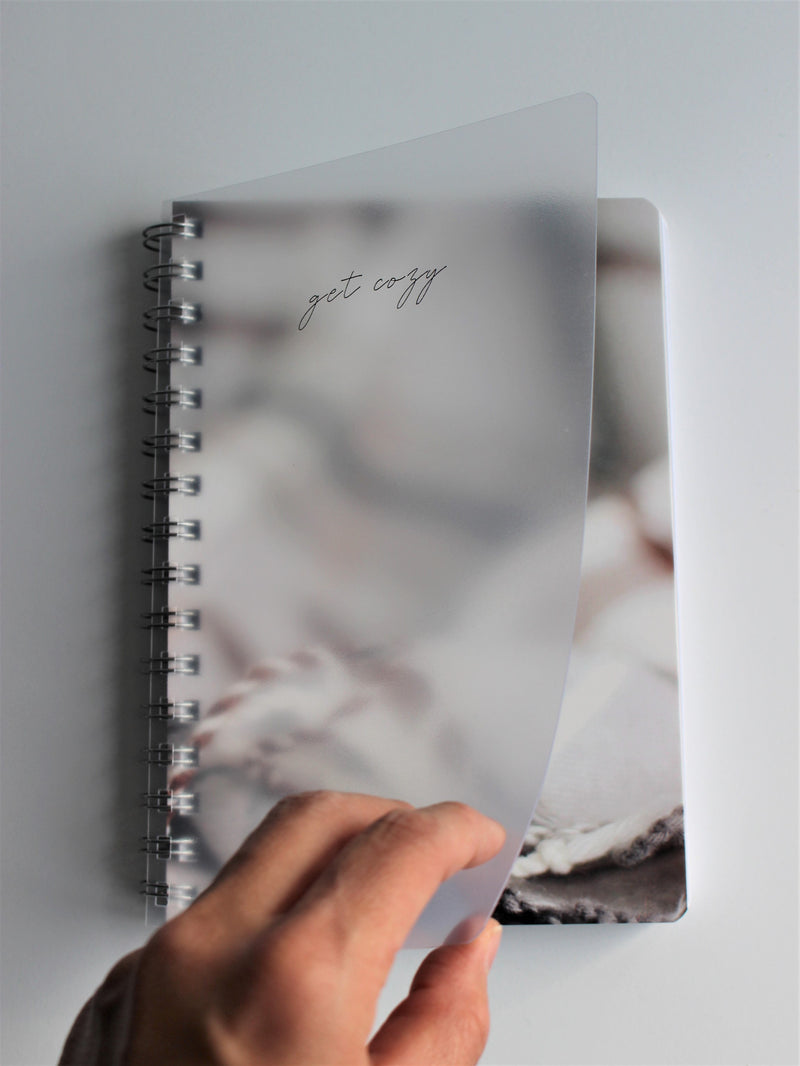 Small Spiral Notebook (A5) - Cozy at Home