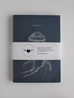 Set of 3 B5 soft cover notebooks - Draw'n to the Sea collection