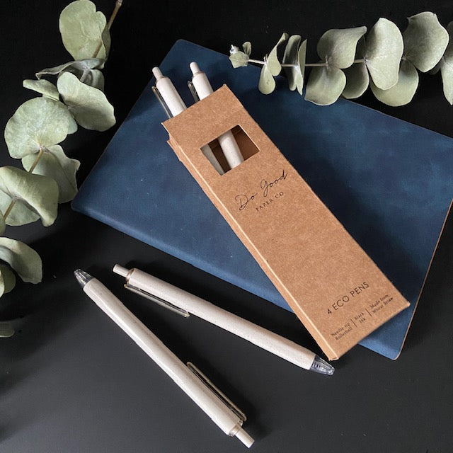 Eco pens for journaling