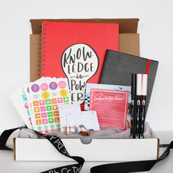 Fall 2019 edition subscription box, Canadian subscription box, stationery
