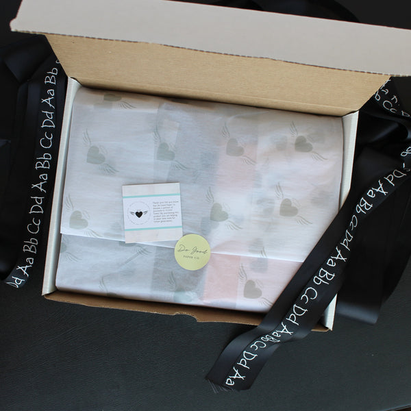 Do Good Paper Co. inside subscription box - annual subscription