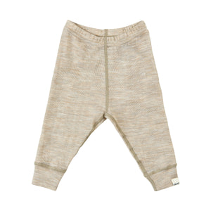 Legging Solid Wonder wollies - Beige - Celavi