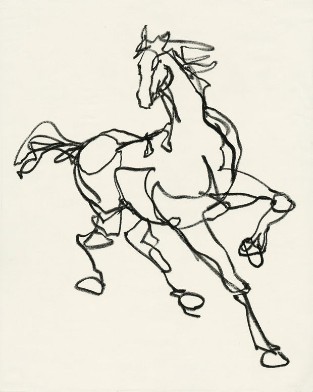 HORSEY no 1 PRINT Limited Edition 75 ct- 16x20