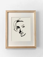 LADY ISELIN PRINT Limited Edition 25 ct- 11x14