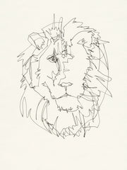 LION LINES PRINT Limited Edition 50 ct - 12x16