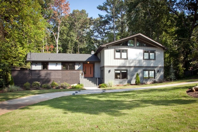 70s House Exterior Remodel
