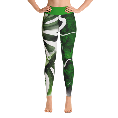 THINK Yoga Pants Flora Collection 2
