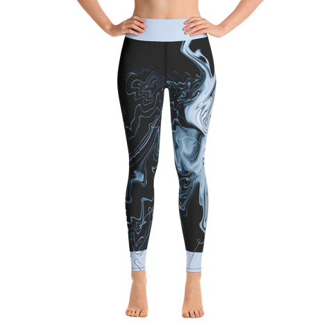 THINK Yoga Pants Ocean Collection 8