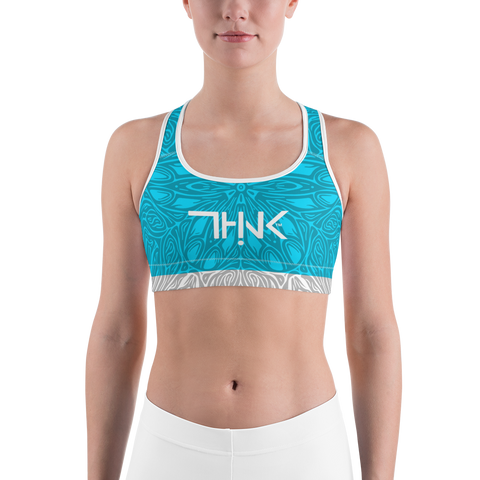 THINK Sports bra Turquoise