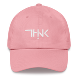 "THINK Logo ""dad"" hat"