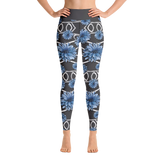 THINK Yoga Pants Floral Pattern 3