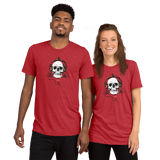 THINK Skull Headphones Short sleeve t-shirt