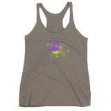 THINK Graphic Flower Women's Racerback Tank 2