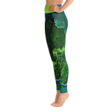 THINK Yoga Pants Flora Collection 1