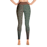 THINK Yoga Leggings Design 8 (skulls)