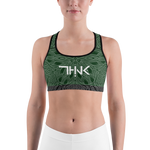 THINK Sports bra Dark Green